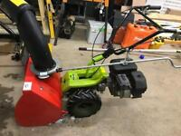 Grillo snowblower and snow plow