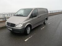 2009 vito van LONG 111 CDI VAN ONE OWNER M.O.T 17 APRIL 2019 £4295