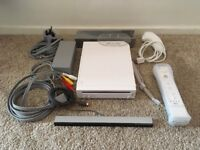 Nintendo Wii In White With Early Firmware