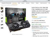 EVGA GTX 1060 FTW+ Edition