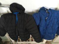 2 boys coats age 7-8