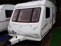 SUPERB 2006 Elddis Odyssey 482 2 Berth End Washroom Caravan with Motor Mover