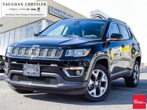 2018 Jeep Compass 1 Owner *Limited 4x4*Only 1494kms*Pano Roof*Na