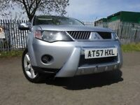 57 MITSUBISHI OUTLANDER WARRIOR DI-D 2.0 DIESEL 4X4,**7 SEATER**,MOT DEC 018,1 OWNER,FULL HISTORY