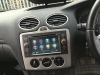 Ford Cars Sat Naw Dvd Full European Map Bluetooth Ford Factory Fit Model Aux/Usb/Sd Plug Play Model