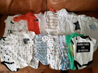 Large Baby boys clothes bundle 0-3 months