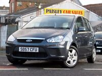 57 REG FORD C-MAX STYLE TD 1.8cc 5 DOOR. Call PaisleyCarSales 01418899200 / Mob,07895607121