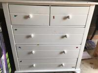 Mamas and Papas Change Table & Drawer Chest Combo