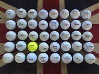 40x Titleist, Callaway, Taylormade etc Golf Balls