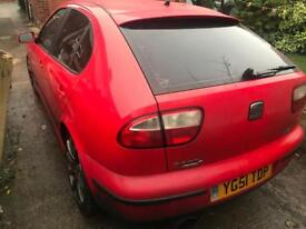 Seat Leon Cupra 1.8 Turbo 180bhp Mot n tax