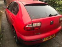Seat Leon Cupra 1.8 Turbo 180bhp Mot n tax