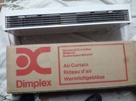 Dimplex 3kW over door electric heater, brand new.