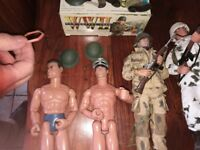 Substantial action man collection