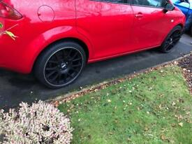 "BBS CH 19"" alloy wheels"