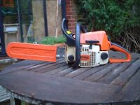 STIHL 023 PETROL CHAINSAW - EXCELLENT CONDITION