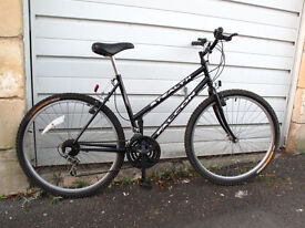 Ladies bike Falcon black very good condiction