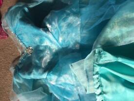 Frozen children's costume 3-4 4-5