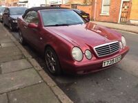 Mercedes CLK 320 Elegance Automatic Convertible 1999 ***Fantastic Bargain Drives brilliant***