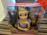 Disney Princess Deluxe Rapunzel styling head brand new unopened