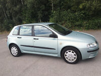 FIAT STILO 1.2 5 DOOR REALLY GOOD CONDITION LOW MILAGE BARGAIN