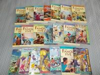 Famous Five books by Enid Blyton. The full set of 21 books.