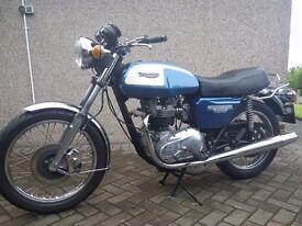1980 Triumph Bonneville T140E, Restored Classic