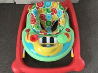 Mothercare baby walker, as new