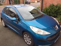 Peugeot 207 Petrol Blue
