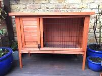 Wooden Outdoor Hutch: Rabbit / Guinea Pig / Small Animal Cage (Very Good Condition)