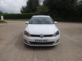 Volkswagen Golf GT TDi Bluemotion Technology Dsg 5dr (white) 2014