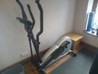 DECATHLON VE750 CROSS TRAINER, AS NEW HARDLY BEEN USED FULLY TESTED PERFECT WORKING CONDITION.