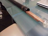 WELDING RODS FOR GAS WELDING COPPER COATED 3.2 MM X APPROX 50
