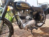 ROYAL ENFIELD BULLET, 2008, MOT 2018, LOW MILEAGE, IMMACULATE
