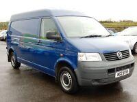 2007 volkswagen transporter 1.9 tdi panel van with only 78000 miles, psvd until april 2017 1 owner