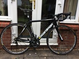54cm frame Boardman Carbon Road Bike Excellent Condition