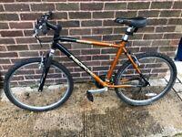"""Mountain bike Radford Hurricane 21"""" frame 26"""" wheels"""