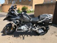 BMW R1200GS Touring Edition 2018 model 6 months old.