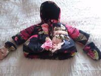 Winter baby girl bundle 3-6 months