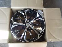 NEW BOXED 17 INCH X 7 ALLOYS 4 X 100 4 X 108 RACING DYNAMIC FORD VAUXHALL ETC FITMENT CAN DELIVER