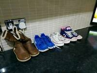 Converse and nike size 12 children's trainers and boots