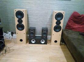 Surround Sound Home Cinema Speaker System