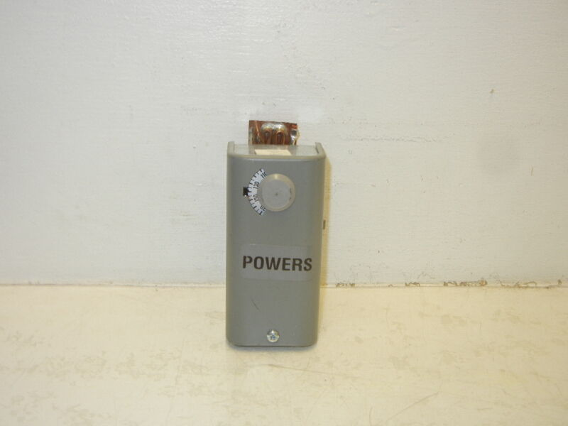 SIEMENS / POWERS 141-0522 NEW-NO BOX SURFACE MOUNTED TEMPERATURE CONTROL 1410522