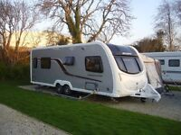 Touring Caravan-Swift Conqueror 645 2012 Model.• 4 Berth• End Washroom•Silver .One Owner. Cornwall
