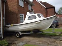 ORKNEY FASTLINER 19 FISHING BOAT - 1988 - EXCELLENT CONDITION