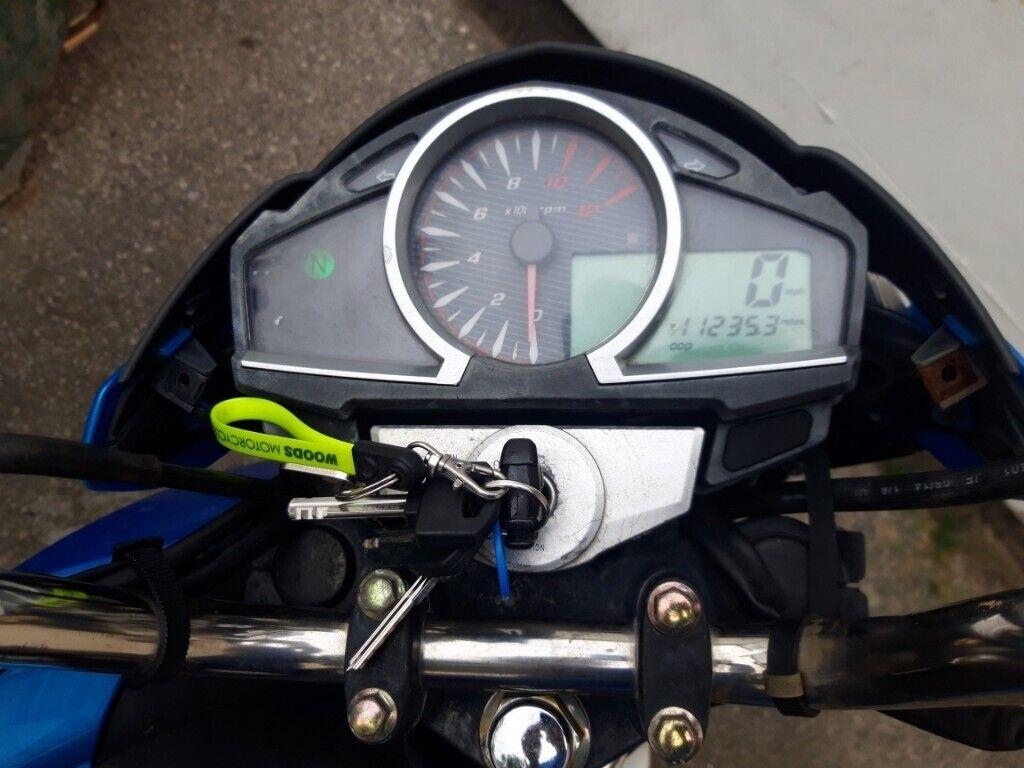 Sinnes sp125cc motorbike | in Rhyl, Denbighshire | Gumtree