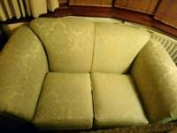 Small green 2 seater sofa / seater