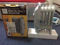 Radiator type Room Heater