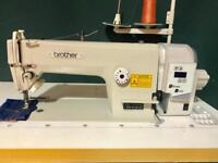 Brother Japan flat lockstitch Industrial Sewing Machine with special Direct Drive Silent servomotor