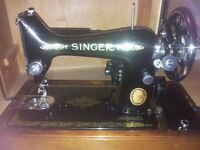 singer sewing machine mechanical and electric but no power lead or foot pedal
