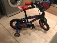 Kids Spider-Man bike £50 open to sensible offers